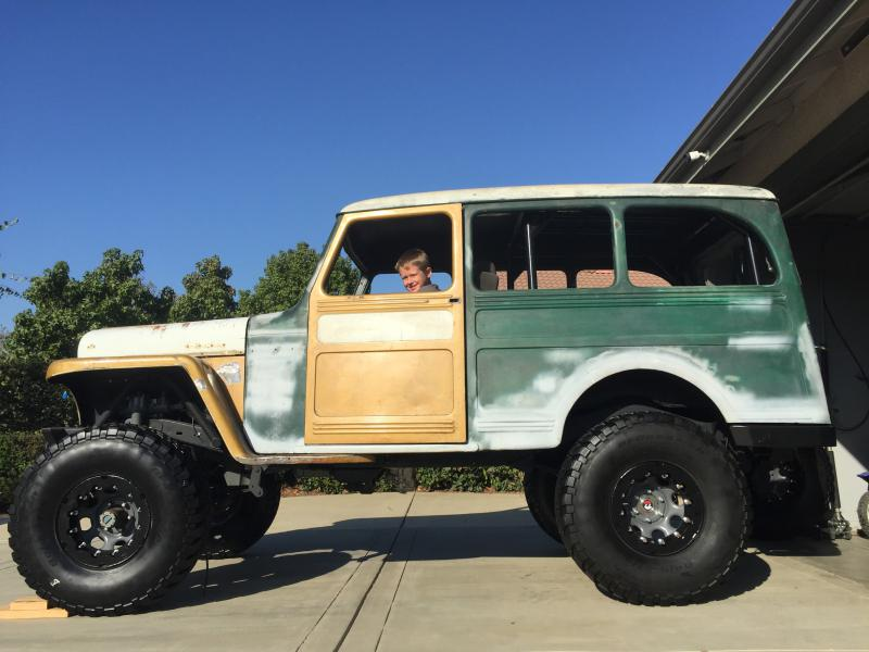 55 Willys Wagon Build - Pirate4x4.Com : 4x4 and Off-Road Forum