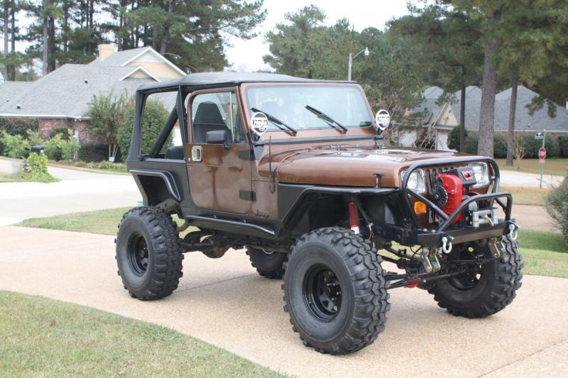 87 Wrangler YJ Great trail rig or good start for a build - Pirate4x4