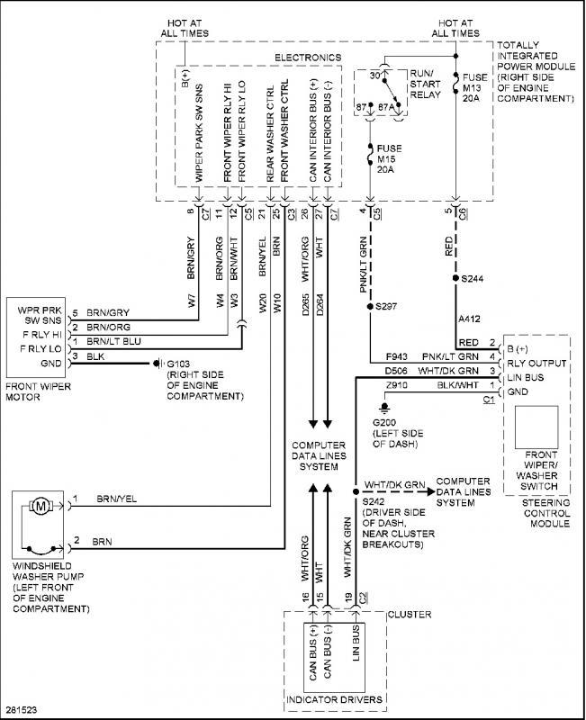 Bypass Jk Computer For Wiper Wiring