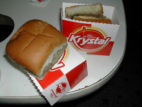 What's the most krystal burgers you've eaten in one sitting ...