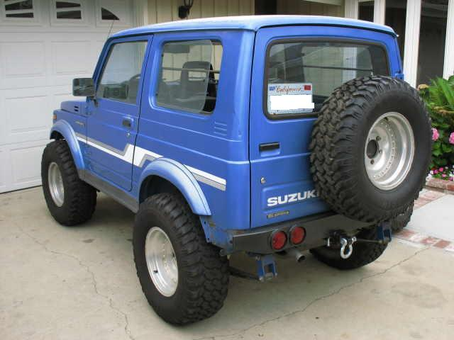 86 suzuki samurai hardtop 16 valve pirate4x4 com 4x4. Black Bedroom Furniture Sets. Home Design Ideas