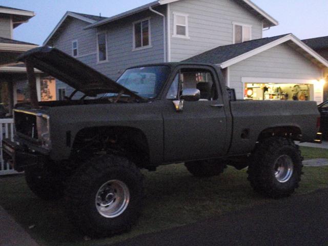 1984 chevy c10 weight