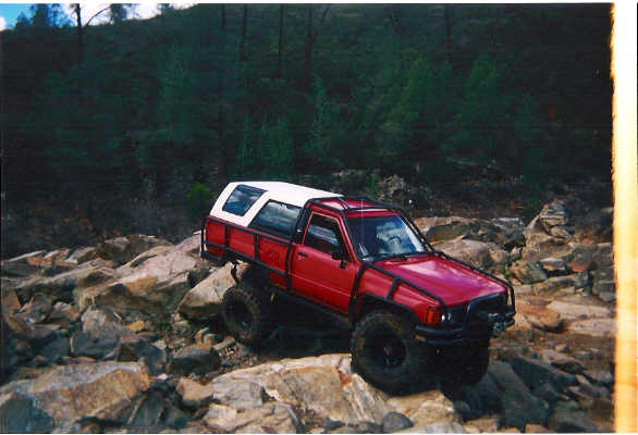 Who has made an exo or roll cage out of hrew pirate4x4 com 4x4 and off road forum for Interior roll cage for toyota pickup