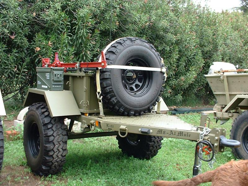 Off Road Trailers For Sale Used >> Off Road Trailer Mil Spec M8 Military Trailer Pirate4x4