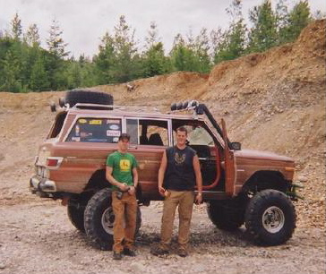 Name:  me and adam at the gravel pit.jpg