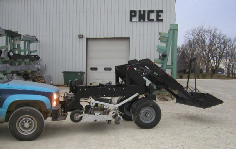how to build a 3 point hitch carry all