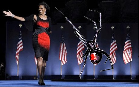 does Michelle Obama look like a black widow? - Pirate4x4.Com : 4x4 ...