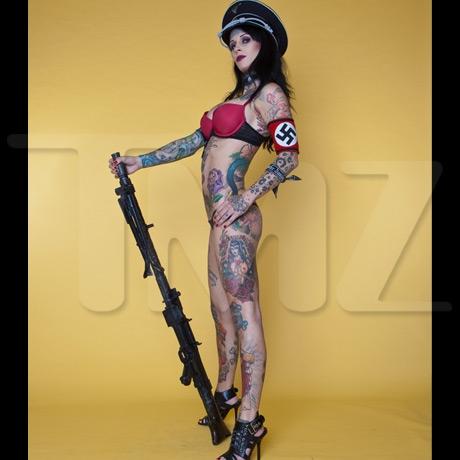 Nazi stripper mcgee
