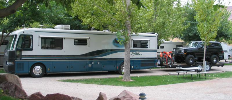 class A motorhome plus towing with it - Pirate4x4 Com : 4x4