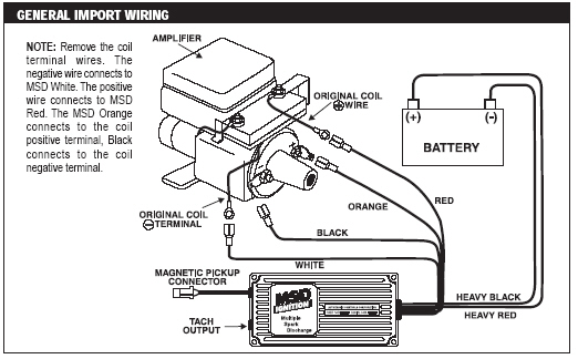 msd tach wiring diagram how to msd 6a installation on a 22re pirate4x4 com 4x4 and how to msd 6a