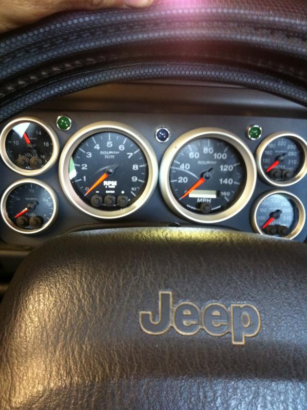 Jeep After Market >> TJ voltmeter gas gauge not working - Pirate4x4.Com : 4x4 and Off-Road Forum