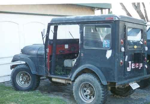 73 dj 5 postal jeep pirate4x4 com 4x4 and off road forum. Black Bedroom Furniture Sets. Home Design Ideas