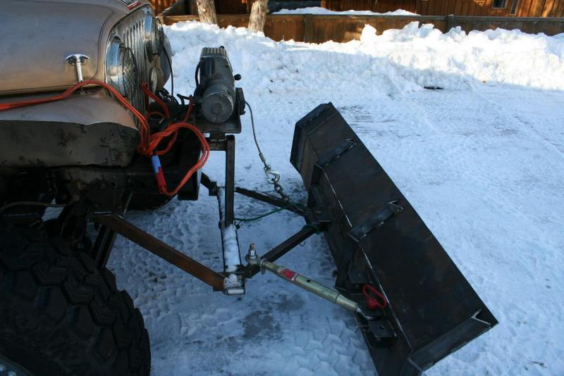 Home made snow plow ideas - Pirate4x4