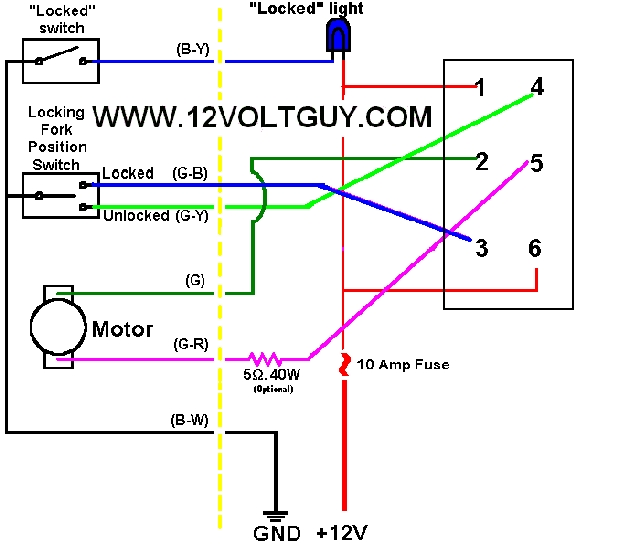 e locker wiring question rh board marlincrawler com Trailer Wiring Harness Diagram Limit Switch Wiring Diagram