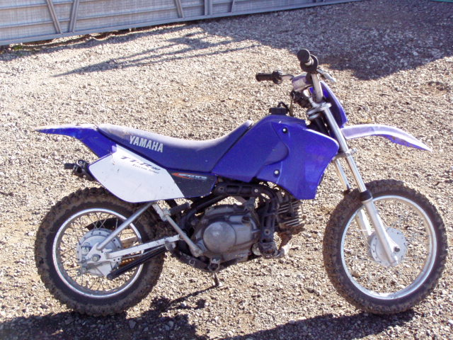 Two Kids Dirt Bikes One Ktm 50cc Pro Jr And A Yamaha Ttr 90cc Cheap Pirate 4x4