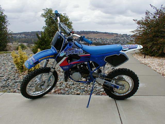 Polini X3 And X5 50cc Mini Dirt Bikes 4x4 And