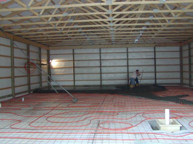 Radiant garage floor heating systems carpet vidalondon for Garage floor heating systems