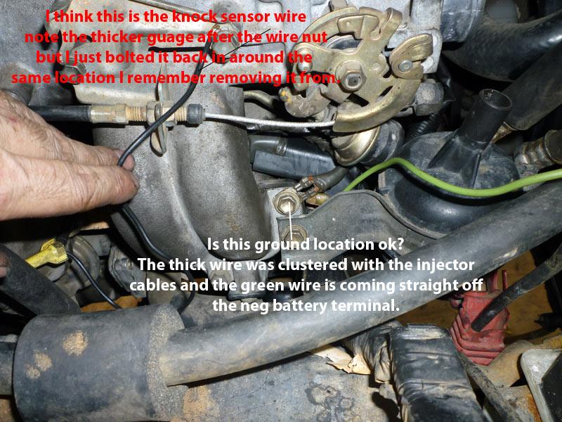 91 toyota pickup 22re knock sensor location on toyota 4runner fuel pump  wiring harness diagram