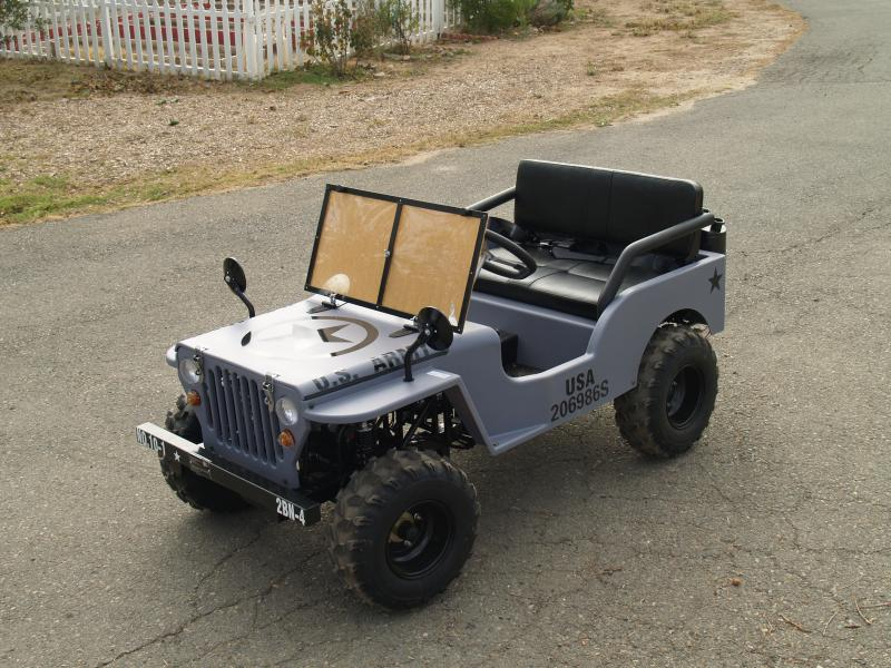 mini jeep go kart