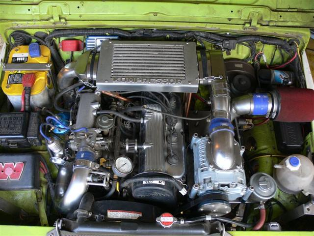 pictures of your motor swaps. - page 2 - pirate4x4 : 4x4 and