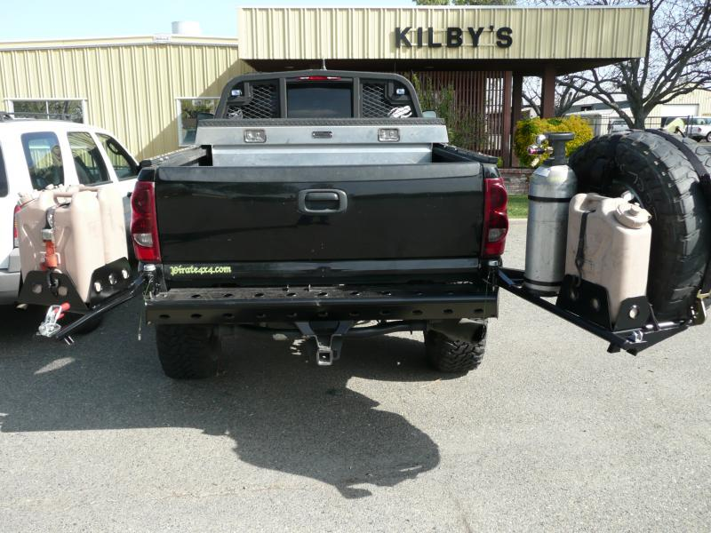 Ford expedition swing away tire rack