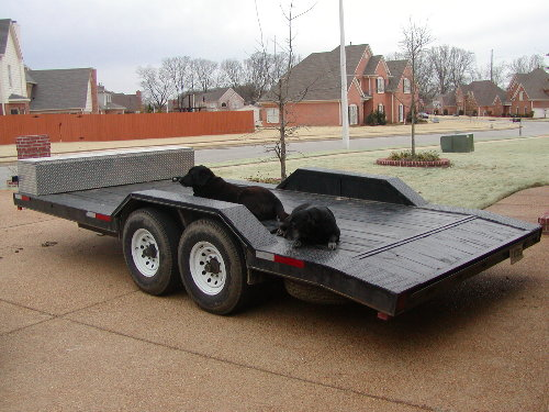 Dually Trailer Fenders : Need info on making a trailer wider pirate