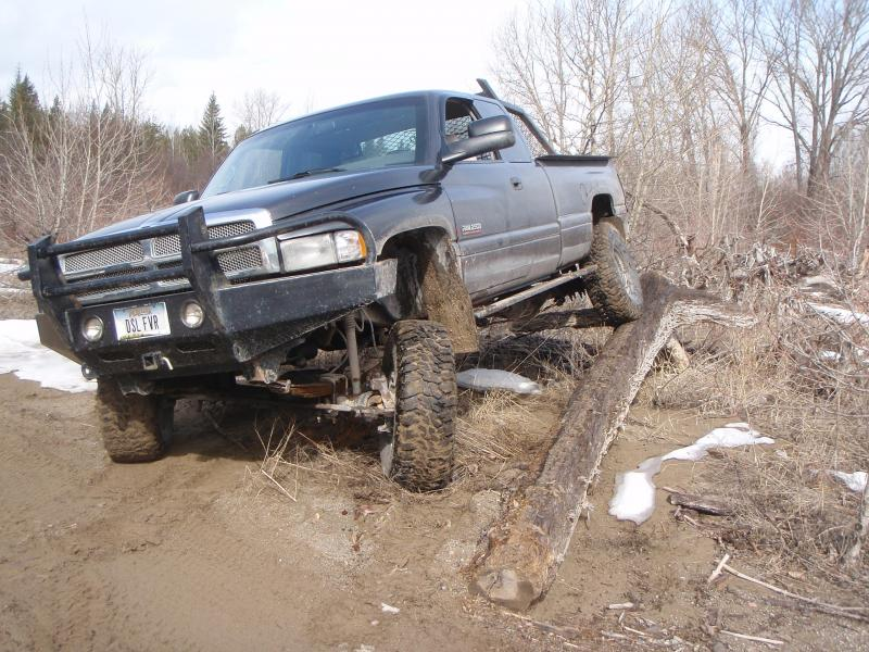 Swapping a 79 dana 60 front into a 94 dodge ram