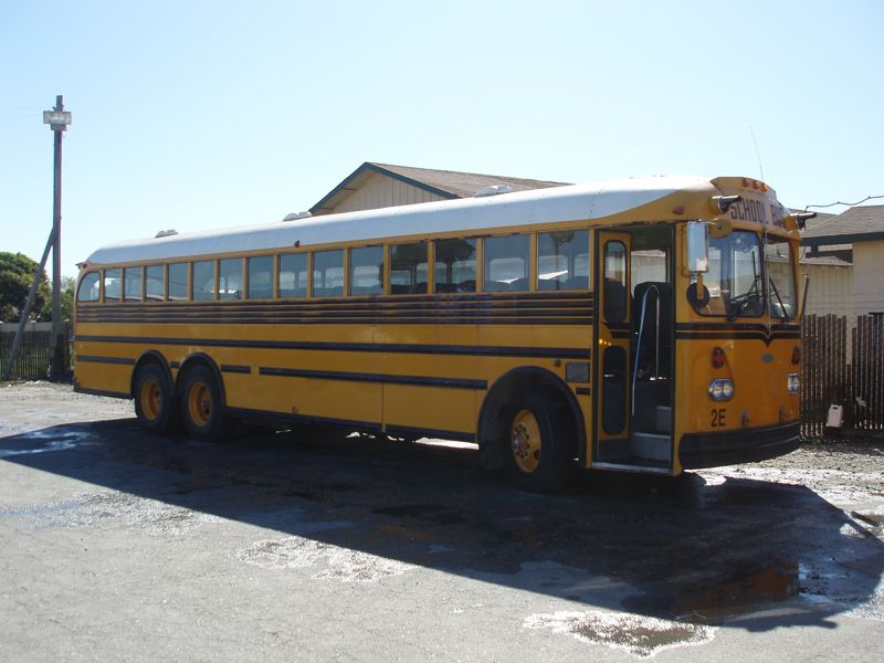 Gillig School Bus Conversion