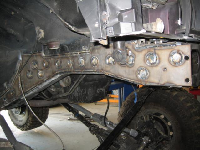 Comanche frame/unibody what??? - JeepForum.com