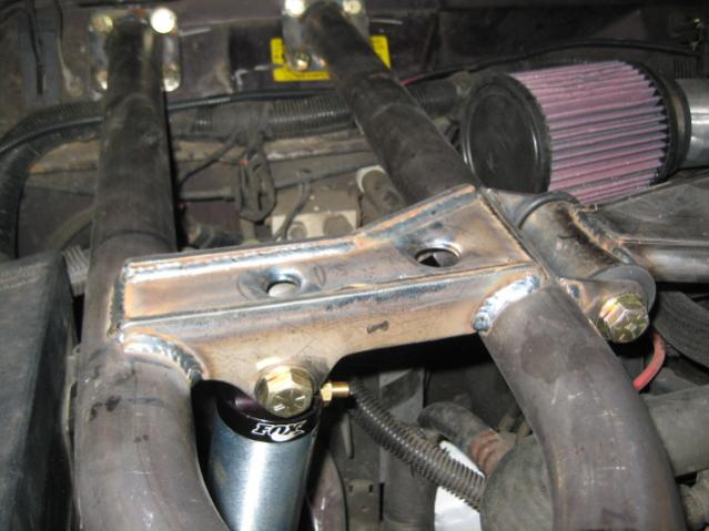 Jeep Xj Front 18 Quot Air Shock Install W Engine Cage