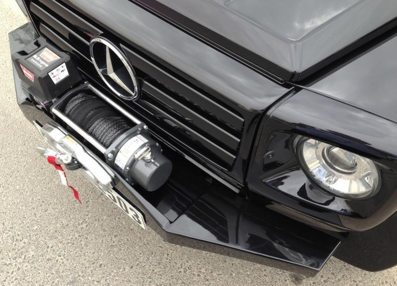 G Wagon Winch Bumper