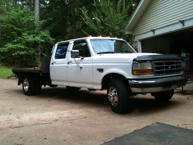 Powerstroke For Sale >> Cheap Tow Rig: 1995 Ford F350 Dually 7.3L Powerstroke Crew Cab $5,200 Alabama - Pirate4x4.Com ...