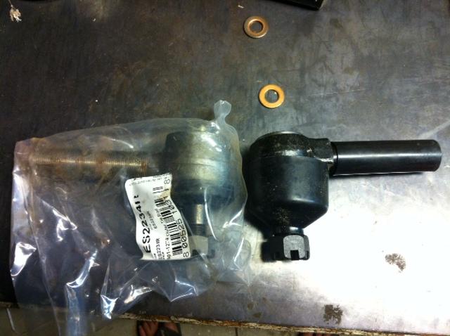 nor cal, tie rod ends, hydro column, output shaft, 14 bolt