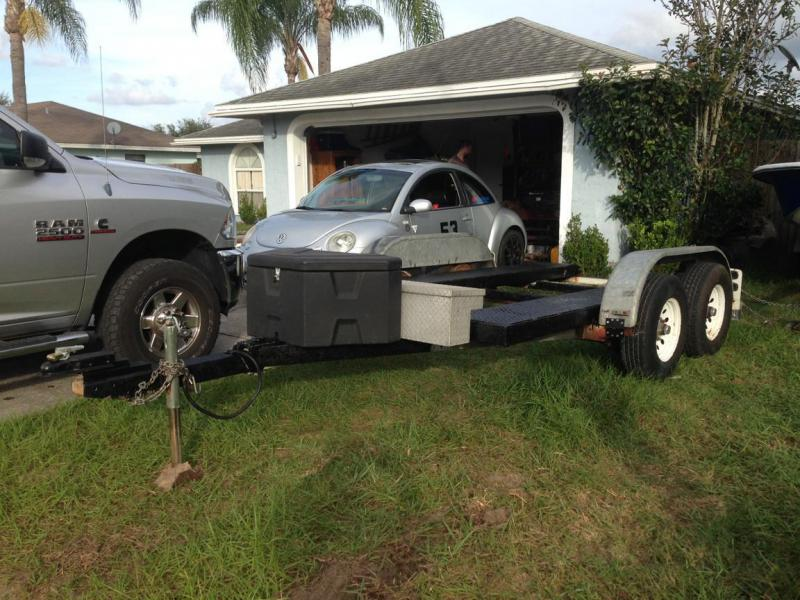 U-Haul auto transport trailer as a rig hauler? - Pirate4x4 Com : 4x4