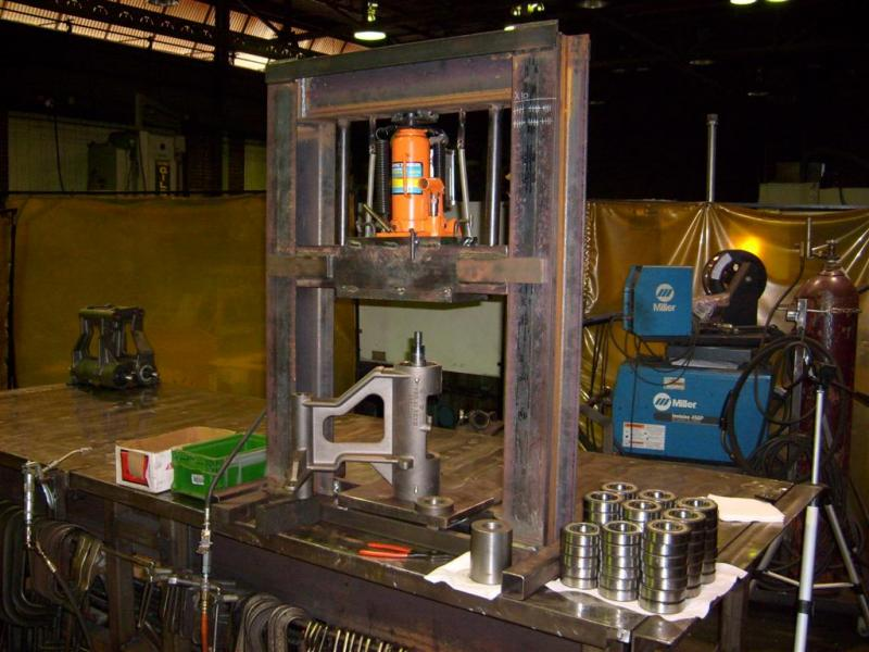benchtop shop press 2