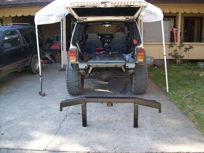 91 Xj Rear Bumper Build Help Pirate4x4 Com 4x4 And