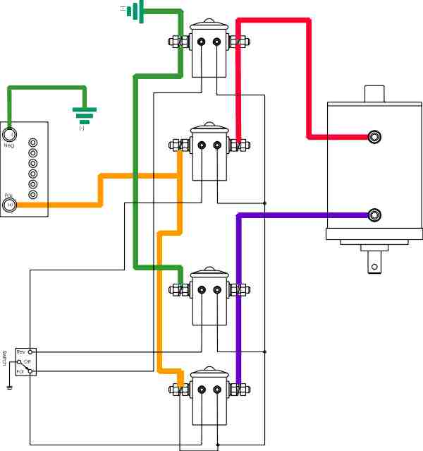 trailer winch wiring diagram warn winch wiring schematic atv wirdig