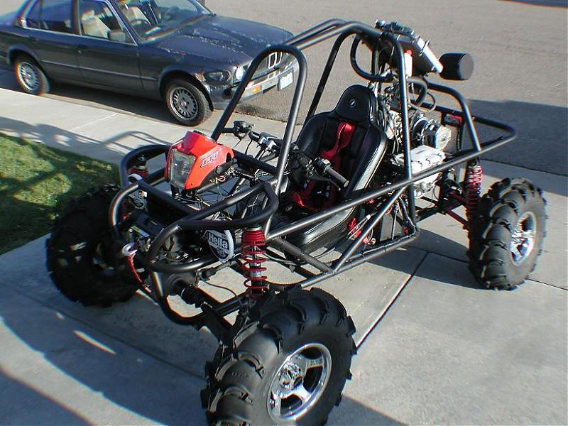 The Polaris RZRs have got to go... mini buggy builds begins ...