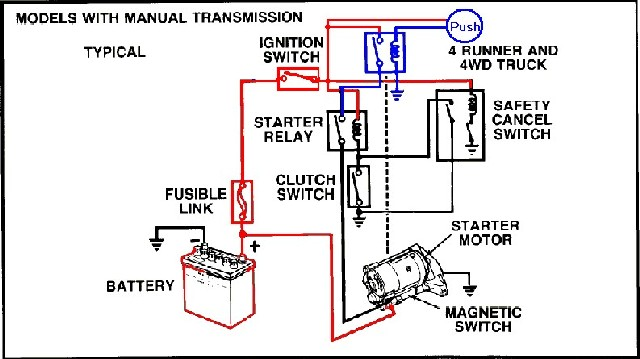 toyota pickup ignition switch location