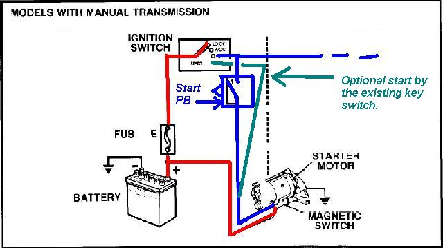 22re push button start - pirate4x4 : 4x4 and off-road forum, Wiring diagram