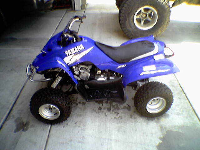 2003 50cc yamaha raptor quad pirate4x4 com 4x4 and off for Yamaha raptor 50cc