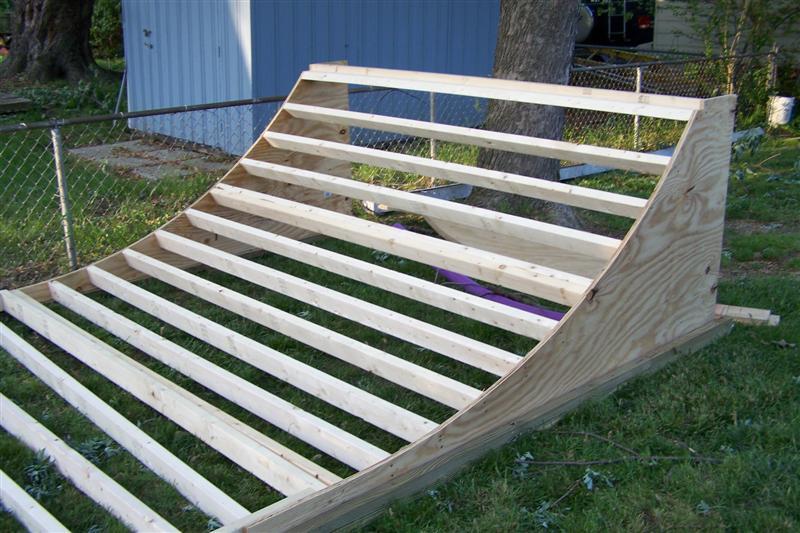 Building a Mini Ramp half pipe Page 2 Pirate4x4Com 4x4 and – Garage Mini Ramp Plans
