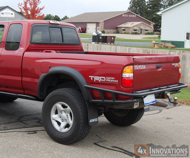 Tacoma Rear Bumper With Built In Class 3 Hitch