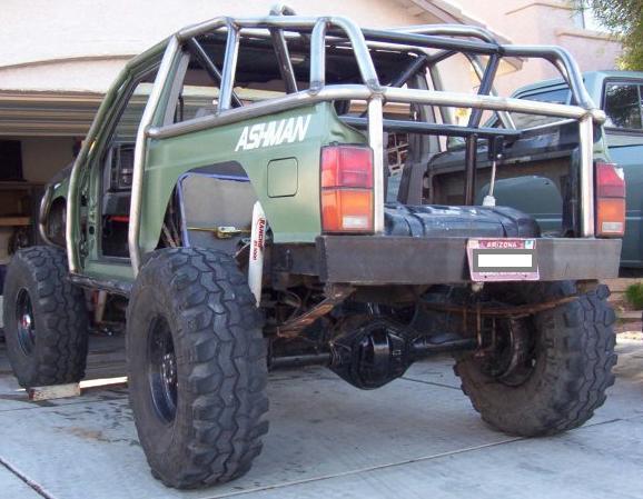 Rear XJ shock hoop Jeep Cherokee Jeep t