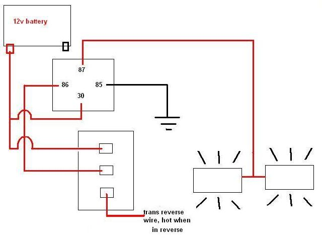 wiring diagram for reverse lights wiring diagram Reverse Wiring Diagram