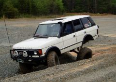 FOR SALE!!!! 1989 Land Rover Range Rover Clic (OFF-ROAD READY ...