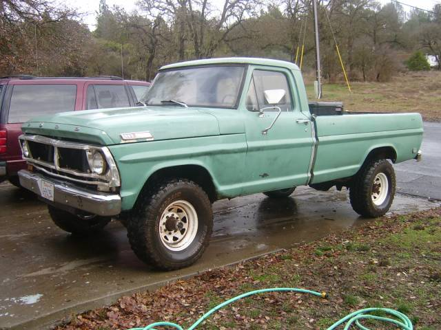 1969 Ford F-250 4x4