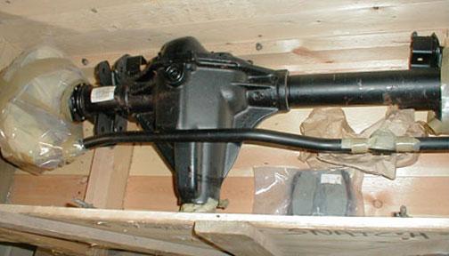 Salisbury Rear Axle : Salisbury axles
