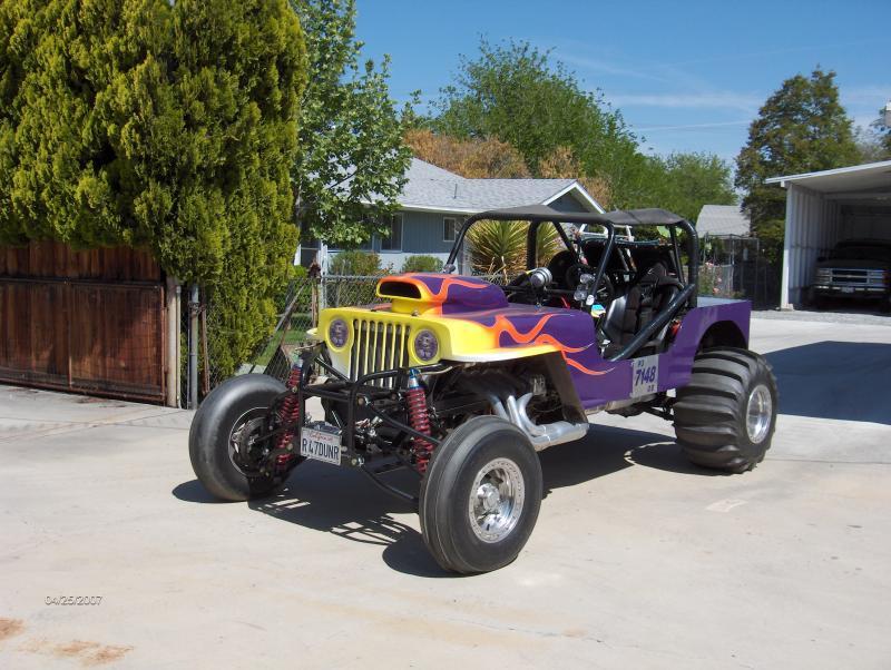 Drag race jeep for sale
