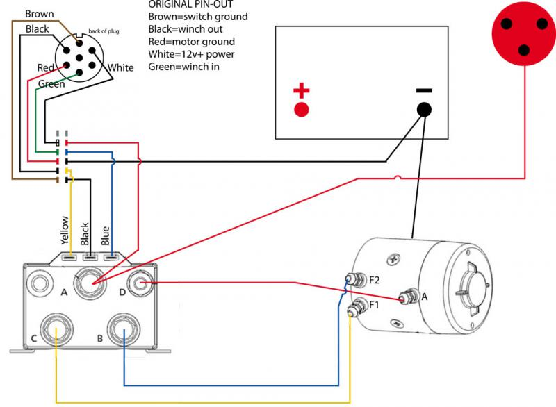 Warn Winch Solenoid Wiring Diagram - daily update wiring diagram on